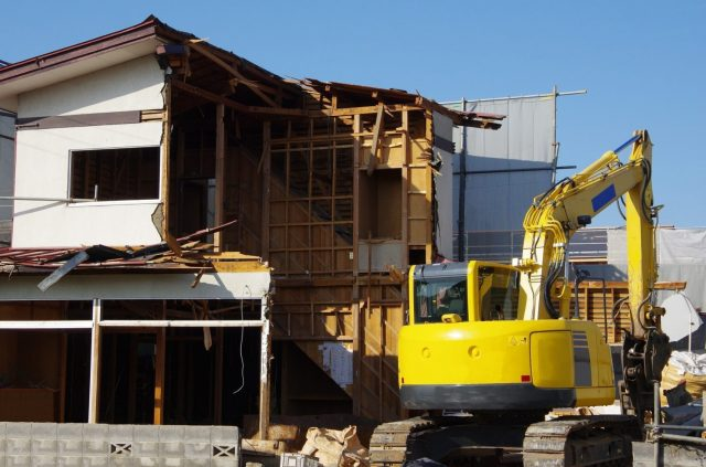 木造家屋解体