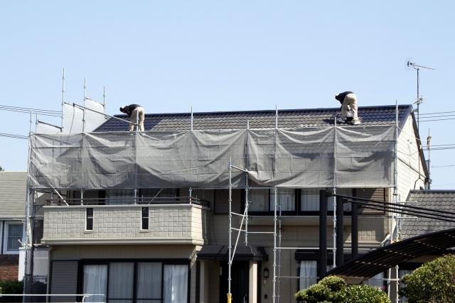 屋根の点検・調査、屋根工事
